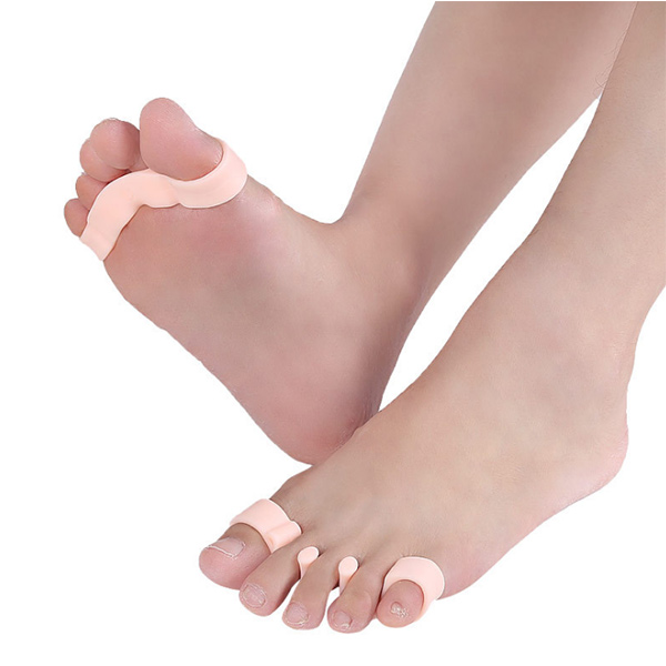 2018 Amazonian Hot - sale silicone super Soft foot Nursing dily correction Five - orteil Separator ZG - 422